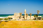 Israel, Caesarea, the mosque