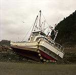 On May 11, 2011, earthquake of magnitude 9.0 and devastating tsunami hit the Tohoku area, killing more than 15,000 people and missing more than 5,000 people. A fisherman boat ran aground by tsunami in Minamisanriku, Miyagi.