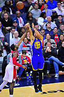 Washington Wizards defeated Golden State Warriors 112-108 during a game at the Verizon Center in Washington, D.C. on Tuesday, February 28, 2017.  Alan P. Santos/DC Sports Box`