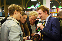 Oliver Proudlock, Rebecca Hoffnung, Jamie Laing and Francis Boulle