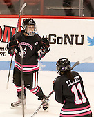 Casey Pickett (NU - 14) - The Northeastern University Huskies defeated the visiting Providence College Friars 8-7 on Sunday, January 20, 2013, at Matthews Arena in Boston, Massachusetts.