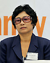 Tokyo, Japan, September 7, 2011 : Hye Suk Kim attends the inaugural conference of international coalition to stop crimes against humanity in North Korea in Tokyo, Japan, on September 7, 2011. (Photo by AFLO)