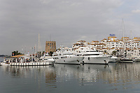 Yacht at Puerto Banus, Costa del Sol, Spain
