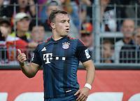 Fussball  1. Bundesliga  Saison 2013/2014  4. Spieltag SC Freiburg - FC Bayern Muenchen        27.08.2013 JUBEL FC Bayern Muenchen, Torschuetze zum 0-1  Xherdan Shaqiri