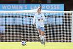 20 November 2016: North Carolina's Hannah Gardner. The University of North Carolina Tar Heels played the Clemson University Tigers at Fetzer Field in Chapel Hill, North Carolina in a 2016 NCAA Division I Women's Soccer Tournament Third Round match. UNC won the game 1-0.