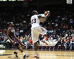 "Ole MIss' Reggie Buckner (23) at the C.M. ""Tad"" Smith Coliseum in Oxford, Miss. on Friday, November 11, 2011. Ole Miss won 60-38 in the season opener."
