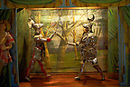 puppet theatre museum, traditional Sicilian puppets, Palermo, Sicily