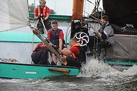 ZEILEN: TERHERNE: Snitser Mar, SKS skûtsjesilen, skûtsje Lemmer, ©foto Martin de Jong