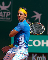 Rafael NADAL (ESP) against Michael BERRER (GER) in the third round. Rafael Nadal beat Michael Berrer 6-0 6-1..International Tennis - 2010 ATP World Tour - Masters 1000 - Monte-Carlo Rolex Masters - Monte-Carlo Country Club - Alpes-Maritimes - France..© AMN Images, Barry House, 20-22 Worple Road, London, SW19 4DH.Tel -  + 44 20 8947 0100.Fax - + 44 20 8947 0117