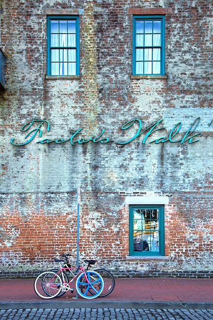 Savannah, Georgia, Factors Walk, Historic Area, Cotton Industry