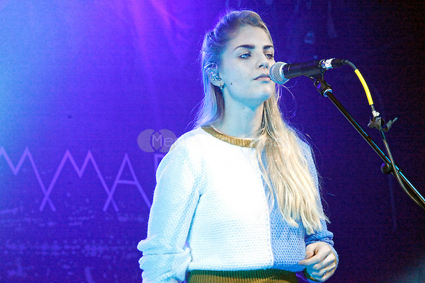 PHILADELPHIA, PA - APRIL 12 : London Grammar perform at Underground Arts in Philadelphia, Pa on April 12, 2014 photo credit © Star Shooter / MediaPunch