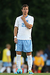 30 August 2013: North Carolina's Alex Olofson. The University of North Carolina Tar Heels hosted the Monmouth University Hawks at Fetzer Field in Chapel Hill, NC in a 2013 NCAA Division I Men's Soccer match. UNC won the game 1-0 in two overtimes.
