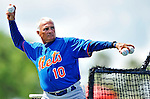 10 March 2012: New York Mets Manager Terry Collins throws batting practice prior to a Spring Training game against the Washington Nationals at Space Coast Stadium in Viera, Florida. The Nationals defeated the Mets 8-2 in Grapefruit League play. Mandatory Credit: Ed Wolfstein Photo
