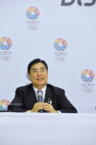 August 23, 2013, Tokyo, Japan - Tokyo 2020 Bid Commttee's press conference for the 125th IOC session at Tokyo Metropolitan Government Tokyo, Japan. (Photo by AFLO)