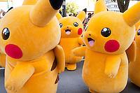 Pikachu mania in Japan 8/7/16