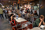 Reading Terminal Market, people dining..Philadelphia, Pennsylvania, PA USA.  Photo copyright Lee Foster, 510-549-2202, lee@fostertravel.com, www.fostertravel.com.  Photo 231b-30305