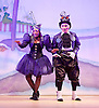 Jack and the Beanstalk <br /> by Susie McKenna with music by Steven Edis <br /> at the Hackney Empire, London, Great Britain <br /> press photocall <br /> 25th November 2015  <br /> <br /> <br /> <br /> Jocelyn Jee Esien as Stomach Bug<br /> <br /> Tony Timberlake  as Nasty Bug<br /> <br /> <br /> <br /> Photograph by Elliott Franks <br /> Image licensed to Elliott Franks Photography Services