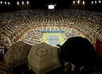 Rain Stops Play..International Tennis - US Open - Day 11 Thu 10 Sep 2009 - USTA Billie Jean King National Tennis Center - Flushing - New York - USA ..© Frey Images, Barry House, 20-22 Worple Road, London, SW19 4DH.Tel - +44 20 8947 0100.Cell - +447843 383 012.Email - mfrey@advantagemedianet.com