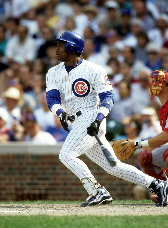 sammy sosa 199805jpg ron vesely stock baseball