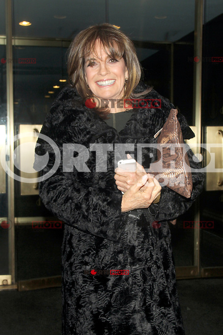 NEW YORK, NY - JANUARY 28: Linda Gray at NBC'S Today Show in New York City promoting the new season of Dallas. January 28, 2013. Credit: RW/MediaPunch Inc. /NortePhoto /NortePhoto
