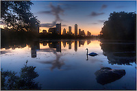 I could not have asked for better conditions in my time spent at Lou Neff Point shooting sunrise over the Austin Skyline. This image of downtown actually comes about 20 minutes before the first rays of daylight. I was blessed with a timely swan coming into view. Later, this same regal bird swam back across my field of view. Along the banks of this premiere park in the state of Texas, this portion of the Colorado River flows along the trails of Zilker Park and is a wonderful place to run, walk, or bike. And mornings here have the pontential to be magical.