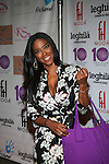 Former Miss USA and ROHA Cast Member Kenya Moore Attends Style360 and HSN Present Serena Williams Signature Statement Collection