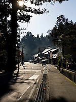 Streets of Koyasan