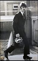 BNPS.co.uk (01202 558833)<br /> Pic: Hansons/BNPS<br /> <br /> Ringo Starr in a smart pin-stripe suit carrying a camera.<br />  <br /> Fascinating never before seen photographs of the Beatles during their Magical Mystery Tour have been unearthed after 50 years.<br /> <br /> The intimate snaps of the Fab Four were taken by a Beatles fan who was on holiday with his family at the Cornish seaside resort of Newquay at the time.<br /> <br /> The Beatles were in the town to record scenes for their Magical Mystery Tour film which was broadcast on Boxing Day 1967.<br /> <br /> Interestingly, the fan managed to capture the foursome in a private moment when they were not being mobbed by crowds of adoring fans.<br /> <br /> The images and their copyright have now emerged for auction and are tipped to sell for &pound;800.<br /> <br /> The vendor, who was in his late 20s at the time, snapped the Beatles entering The Atlantic Hotel in Newquay in September 1967.