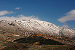 Mount Hermon in the Golan Heights