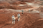 Mars Society research stations