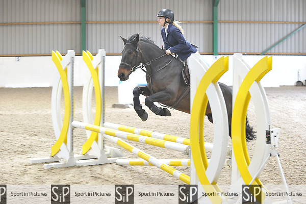 Class 2. British Novice. British Showjumping (BS). Brook Farm Training Centre. Essex. 18/03/2017. MANDATORY Credit Garry Bowden/Sportinpictures - NO UNAUTHORISED USE - 07837 394578