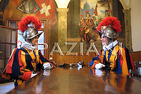 Vatican Swiss Guards celebration of the 1527 Sack of Rome,at the Vatican,May 6,2009