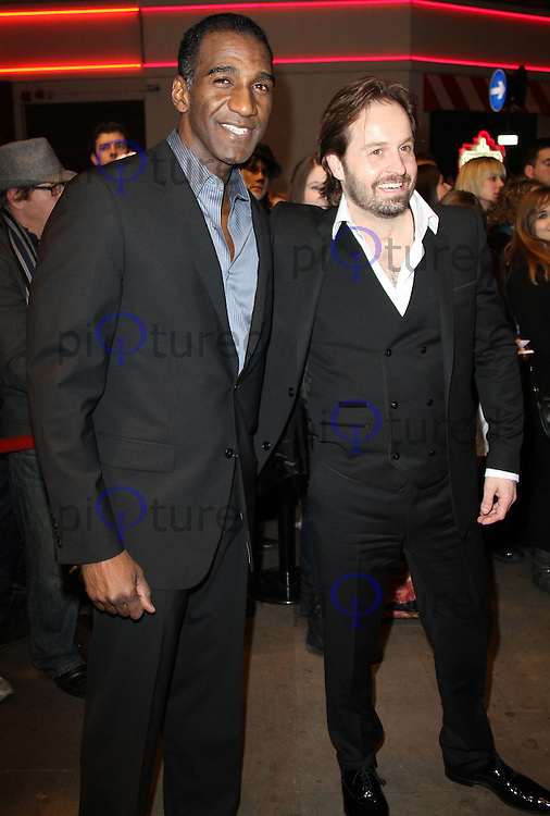 Norm Lewis; Alfie Boe Whatsonstage.com Theatregoers' Choice Awards Concert, Prince of Wales Theatre, London, UK, 20 February 2011: Contact: Ian@Piqtured.com +44(0)791 626 2580 (Picture by Richard Goldschmidt)