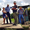 .Passengers, Soroa in  Cuba wait for the bus. Erik Kellar