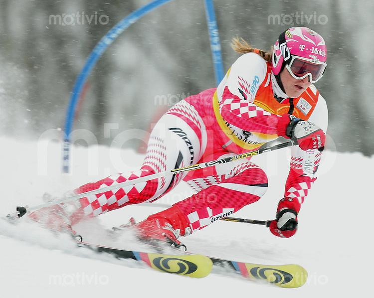 Ski Alpin; Saison 2004/2004 Riesenslalom Aspen Damen Janica Kostelic (CRO)