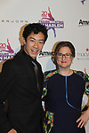 Nathan Chen poses with founder Sharon Cohen - Figure Skating in Harlem celebrates 20 years - Champions in Life benefit Gala on May 2, 2017 in New York Ciry, New York.   (Photo by Sue Coflin/Max Photos)