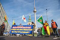2015/11/01 Berlin | Kobane-Solidaritätsdemonstration