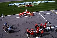 Casey Atwood, Daytona 500, Daytona International Speedway, Daytona Beach, FL, February 18, 2001.  (Photo by Brian Cleary/ www.bcpix.com )