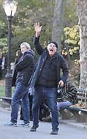 NEW YORK, NY November 07:Director Gary Ross shooting on location for Ocean 8 in Central Park New York .November 07, 2016. Credit:RW/MediaPunch