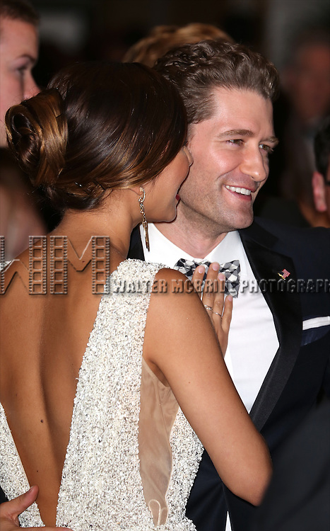 Renee Puente and Matthew Morrison attend the 100th Annual White House Correspondents' Association Dinner at the Washington Hilton on May 3, 2014 in Washington, D.C.