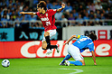 Genki Haraguchi (Reds), Daisuke Nasu (Jubilo),..JULY 17, 2011 - Football :..2011 J.League Division 1 match between Jubilo Iwata 1-1 Urawa Red Diamonds at Ecopa Stadium in Shizuoka, Japan. (Photo by AFLO)