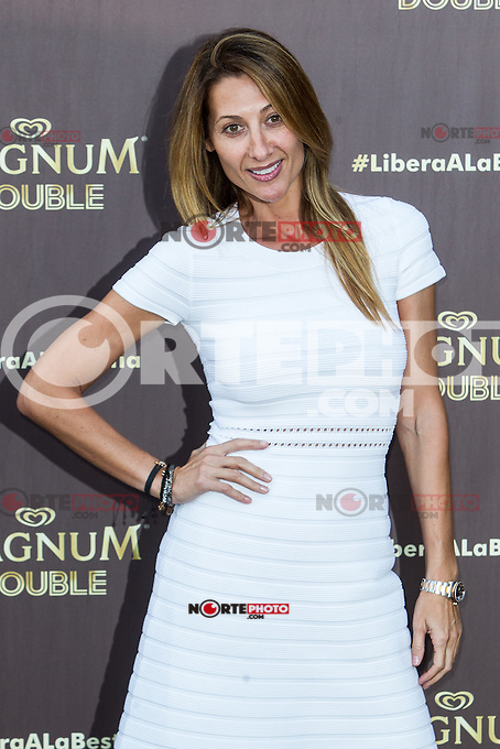 Monica Pont  during the launch party for the new range of Magnum ice cream at  ME Hotel Reina Victoria. Jun 15,2016. (ALTERPHOTOS/Rodrigo Jimenez) /NortePhoto.com