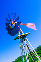 Wind Vane/Windmill In Action