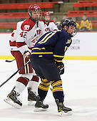 Brendan Rempel (Harvard - 42), Russell Goodman (Quinnipiac - 11) - The visiting Quinnipiac University Bobcats defeated the Harvard University Crimson 3-1 on Wednesday, December 8, 2010, at Bright Hockey Center in Cambridge, Massachusetts.