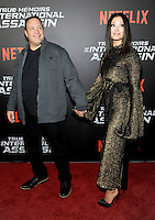 NEW YORK, NY - NOVEMBER 03:  Kevin James and Steffiana de la Cruz attends the 'True Memoirs Of An International Assassin' New York premiere at AMC Lincoln Square Theater on November 3, 2016 in New York City. Photo by John Palmer/ MediaPunch