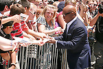 L.A. Reid at the X-Factor auditions in Kansas City, Missouri. June 8, 2012. Credit: MediaPunch Inc. ***NO GERMANY***NO AUSTRIA***