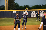 2015 BYU Women's Softball vs San Diego