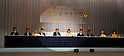 "Sayuri Yoshinaga and cast members, Nov 29, 2011 : November : Tokyo, Japan, Japanese actress Sayuri Yoshinaga appears at a press conference for the film ""Kita no Kanaria tachi"" in the Tokyo."
