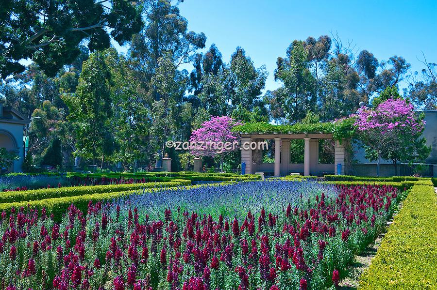 Alcazar Garden, Balboa Park, San Diego, Ca