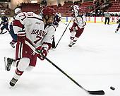 Eddie Ellis (Harvard - 7) - The Harvard University Crimson defeated the US National Team Development Program's Under-18 team 5-2 on Saturday, October 8, 2016, at the Bright-Landry Hockey Center in Boston, Massachusetts.